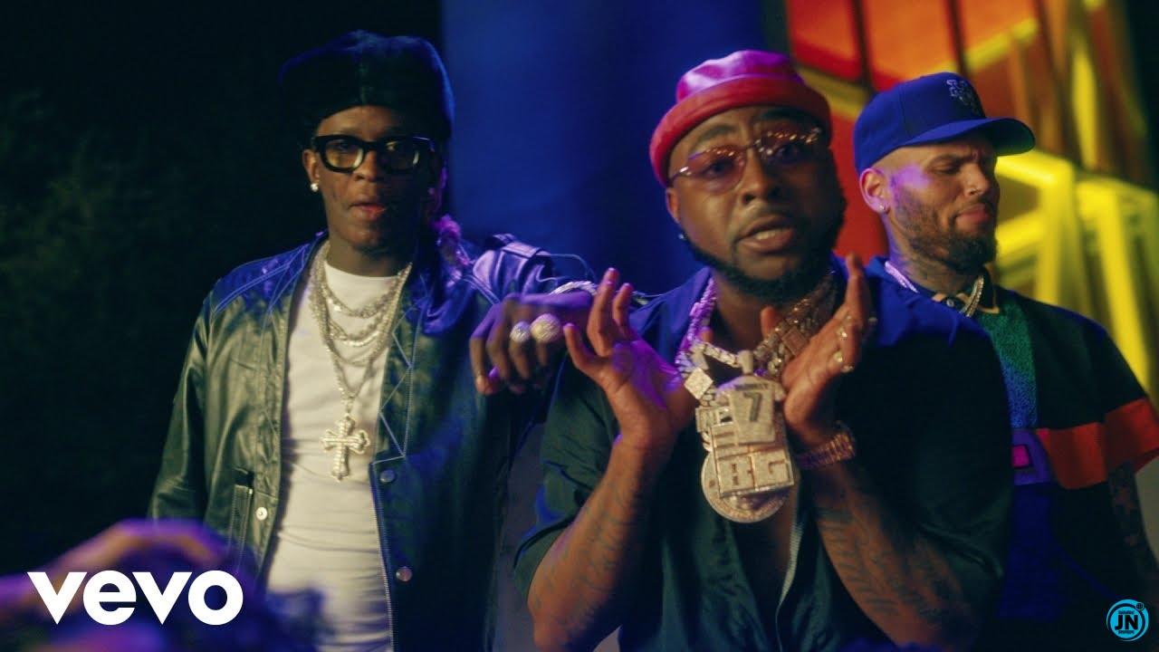 Davido – Shopping Spree ft. Chris Brown & Young Thug